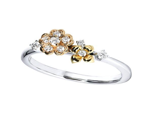 Thiết kế nhẫn kim cương độc đáo với nhiều họa tiết