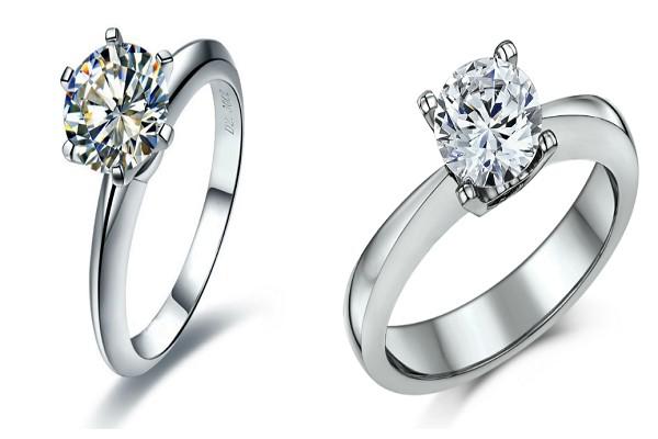những mẫu nhẫn kim cương nữ cao cấp dành cho cô dâu phong cách cổ điển