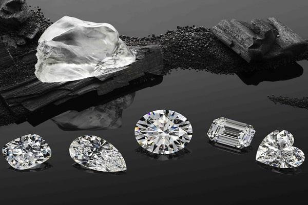 Từng viên kim cương được thiết kế tinh xảo