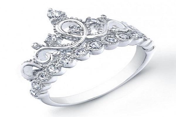 Hình ảnh nhẫn kim cương hai quầng