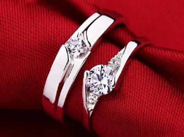 Nhẫn cưới đính kim cương cao cấp