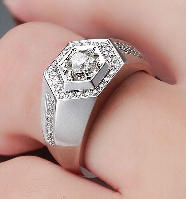 Nhẫn kim cương kiểu cá tính