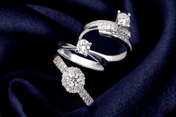 kiểu nhẫn kim cương đẹp – Kiểu thiên thanh