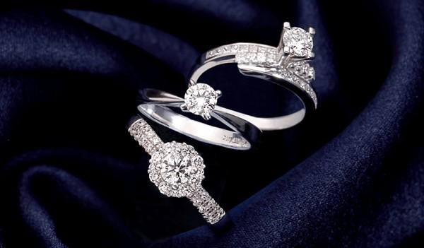 Đa dạng mẫu nhẫn kim cương