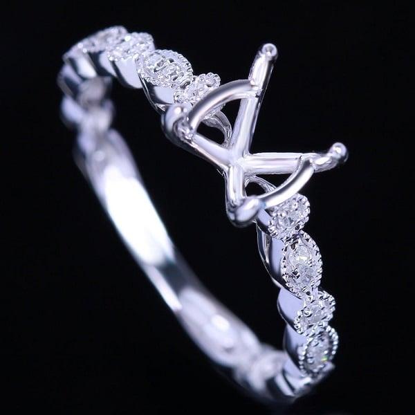 Ổ nhẫn kim cương độc đáo