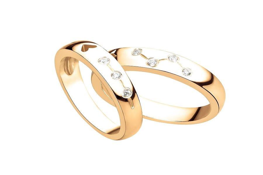 nhẫn vàng nam trơn