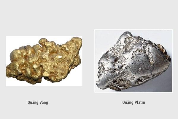 Sự khác biệt về chất liệu giữa nhẫn vàng trắng và bạch kim