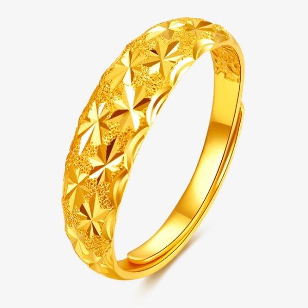Nhẫn vàng nam 24k quý hơn nhưng có nhiều khuyết điểm