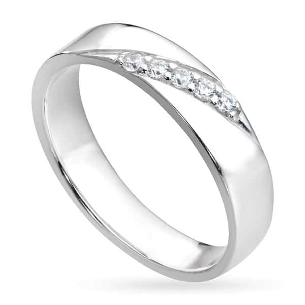 Nhẫn cưới nam đính kim cương