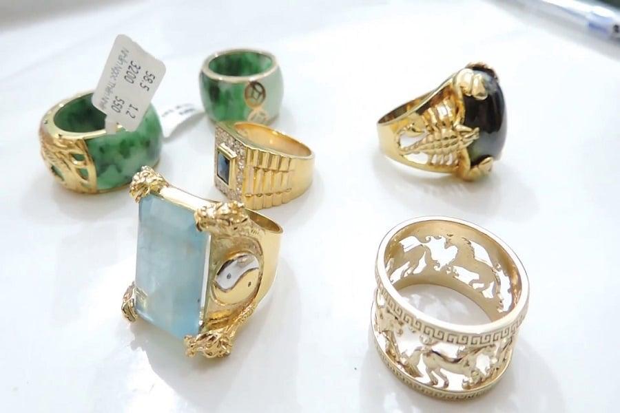 nhẫn vàng nam 18k giá rẻ