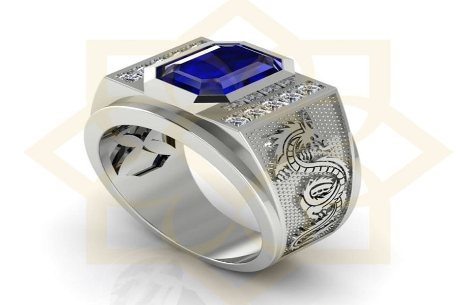 mua ổ nhẫn kim cương nam đẹp