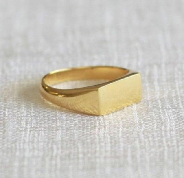 Mẫu nhẫn vàng trơn