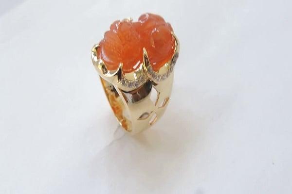 Ý nghĩa của nhẫn vàng tỳ hưu nam trong phong thủy