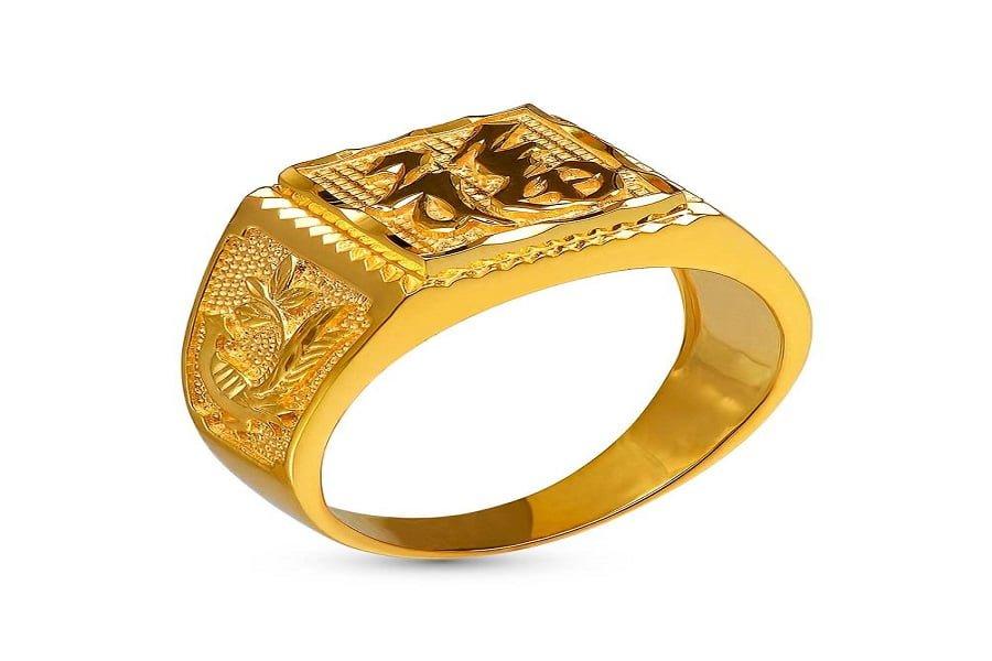 nhẫn vàng nam 1 chỉ
