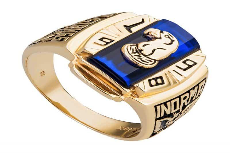 Những mẫu nhẫn vàng nam đá quý đẹp nhất hiện nay