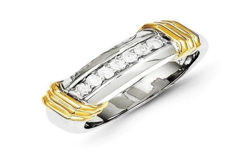 Nhẫn vàng kim cương nam – nét đẹp truyền thống xen lẫn hiện đại