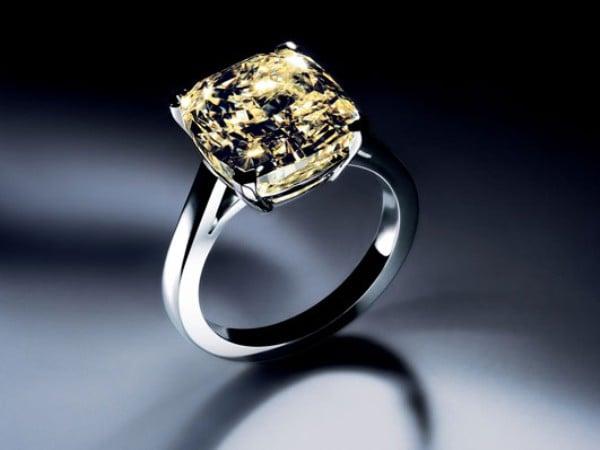 Kiểu dáng vỏ nhẫn kim cương sang trọng