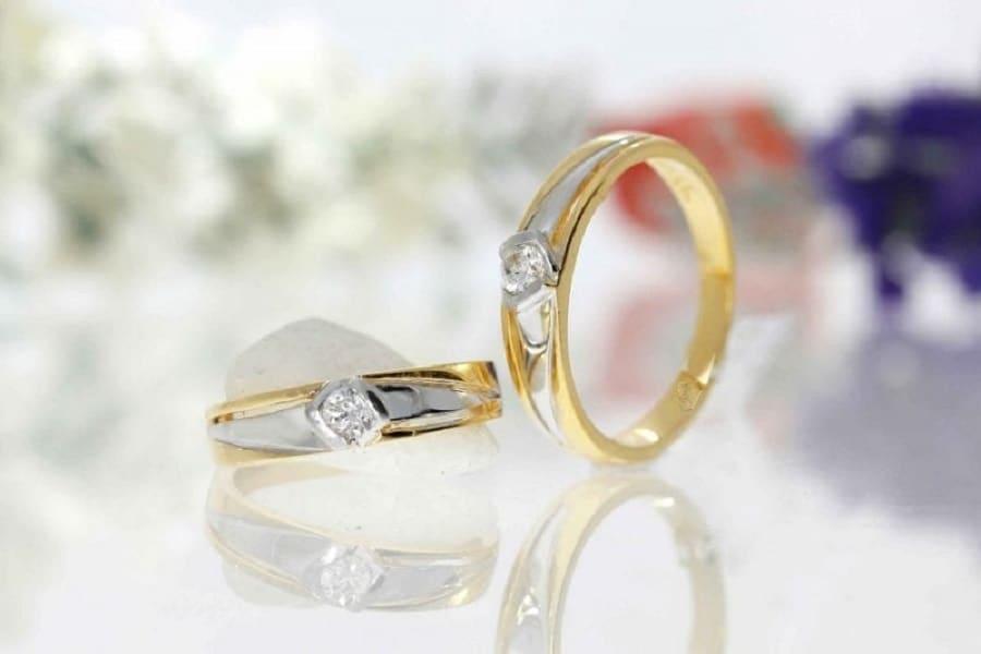 vỏ nhẫn kim cương nam đẹp