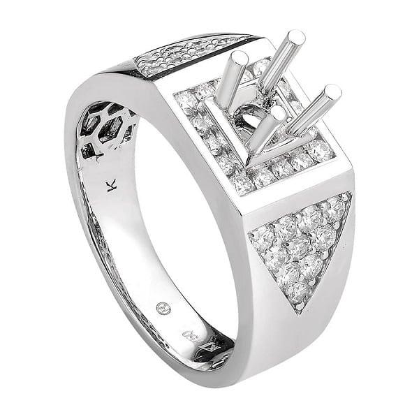 Vỏ nhẫn kim cương nam
