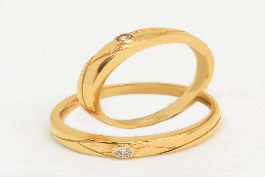 mẫu nhẫn nữ vàng tây đẹp