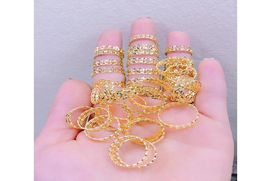 giá cả nhẫn vàng nữ 18k