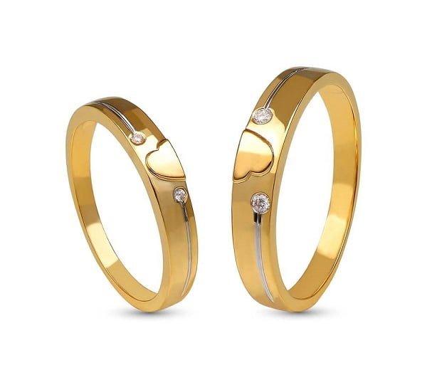Chú ý định lượng vàng trong những mẫu nhẫn vàng nữ đẹp