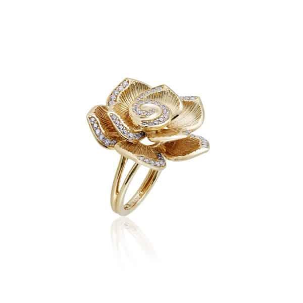 Mẫu nhẫn vàng 18k nữ cho người có phong cách trẻ trung, năng động
