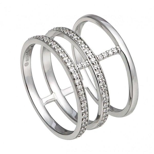 Mẫu nhẫn vàng thời trang cho nữ cách điệu