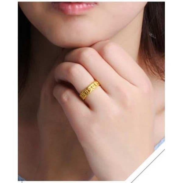 Giá cả nhẫn vàng nữ 18k dựa trên những công thức nhất định