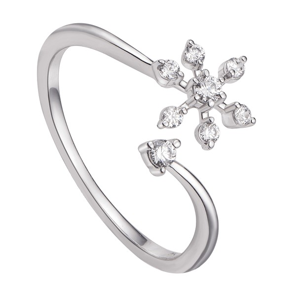Kiểu nhẫn vàng đẹp cho nữ có họa tiết thiên nhiên