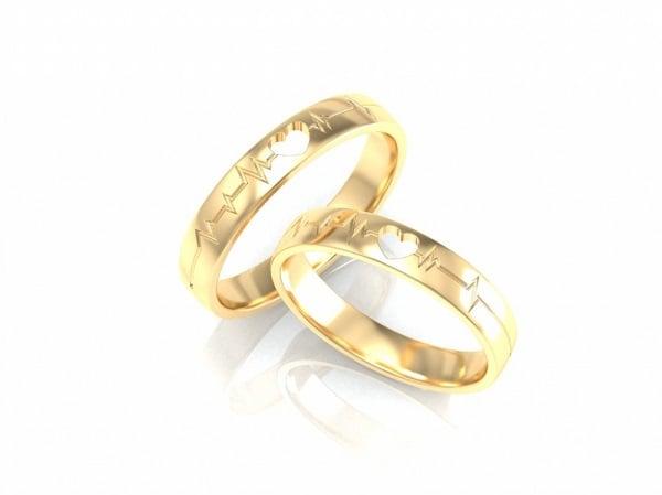 Mẫu nhẫn nữ vàng tây đẹp mang phong cách cổ điển
