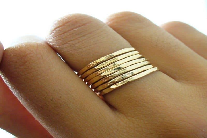 Gợi ý các mẫu nhẫn vàng tây nữ đẳng cấp 2019