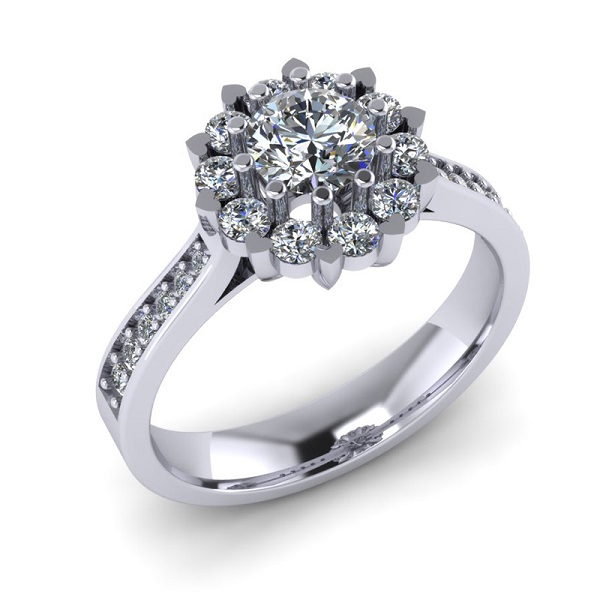 Vàng trắng là một hợp kim giữa vàng nguyên chất và một số kim loại quý như Niken, Platinum, Pladi