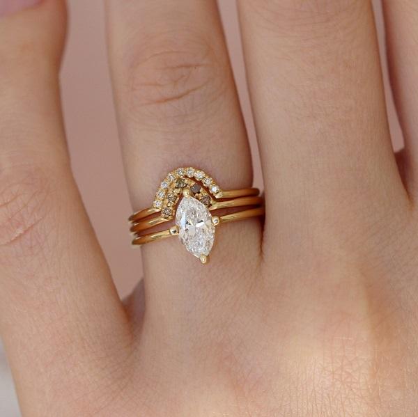 Cần xác định rõ mục đích mua nhẫn vàng mặt đá nữ
