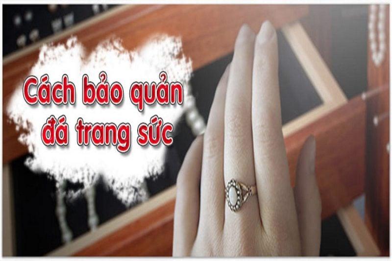 Cách bảo quản nhẫn đeo tay nữ vàng 18k tốt nhất