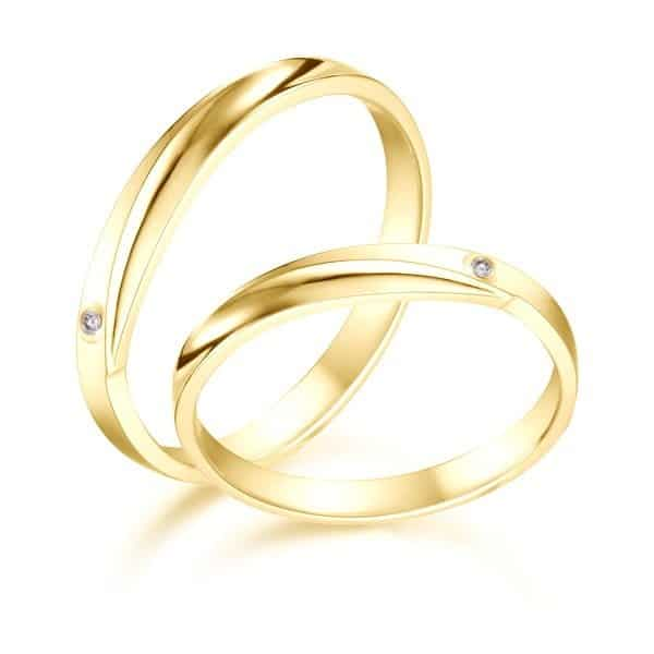 Nhẫn nam vàng tây là hợp kim giữa vàng nguyên chất và một số kim loại khác