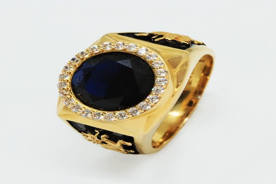 nhẫn vàng tây nam 14k