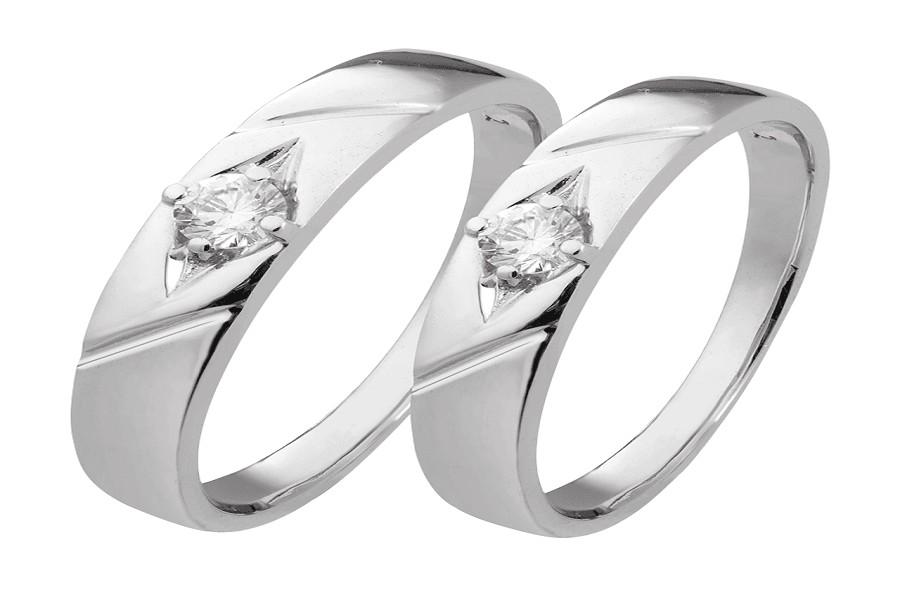 mẫu nhẫn nữ vàng trắng đẹp