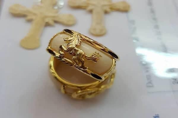 Mẫu nhẫn vàng nam 12 con giáp