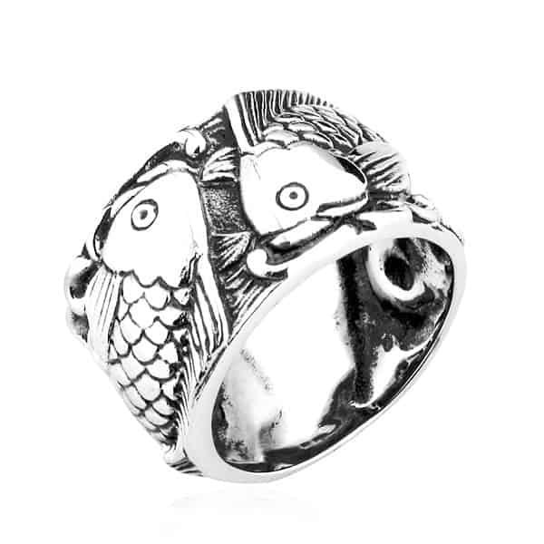 Mẫu nhẫn vàng nam cá chép hóa rồng