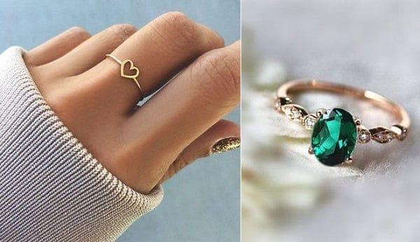 Mẫu nhẫn vàng nữ tại Spring D luôn đảm bảo chất lượng, chế độ bảo hành đầy đủ.