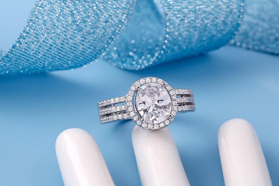 nhẫn vàng nữ đơn giản