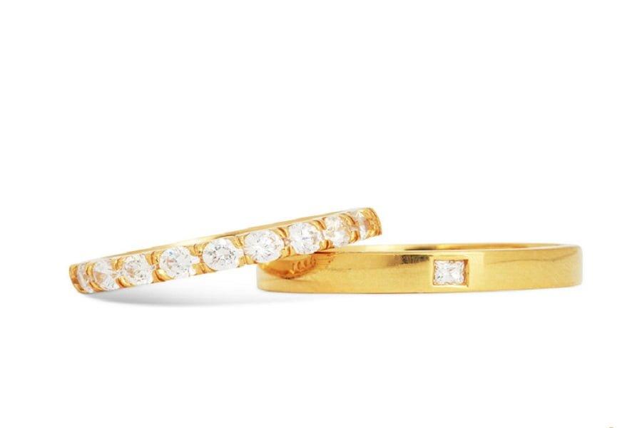nhẫn vàng tây nữ 18k
