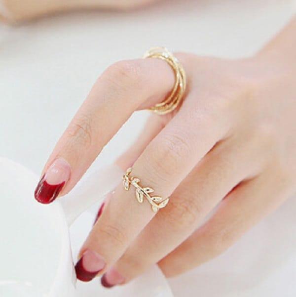 Nhẫn vàng nữ 18k tính thẩm mỹ cao
