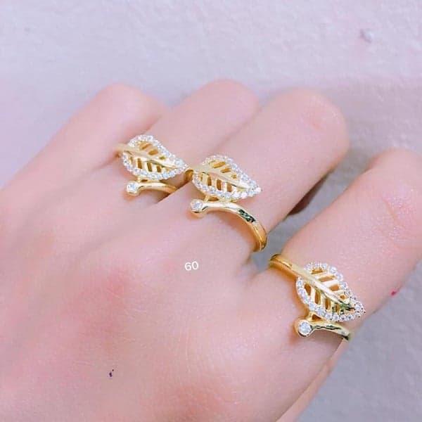 Nhẫn nữ vàng tây 10k được thiết kế với nhiều kiểu dáng hợp thời trang