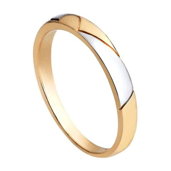 Chọn nhẫn vàng tây đính ít đá