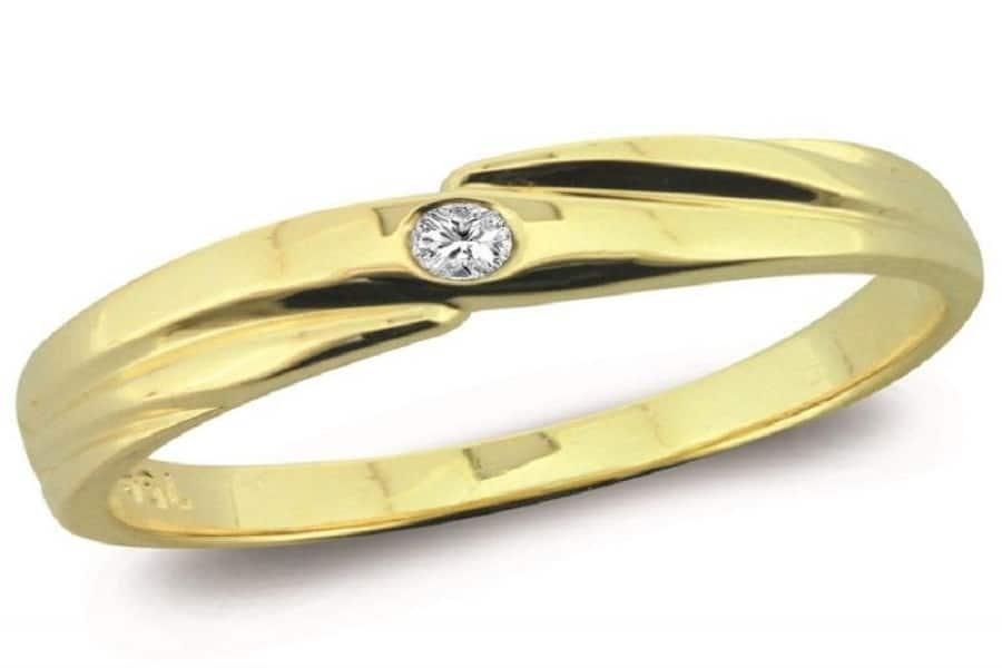 nhẫn vàng 14k nam