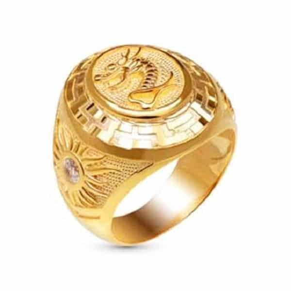 Nhẫn vàng 14k nam là loại nhẫn được làm từ chất liệu vàng nguyên chất và hợp kim