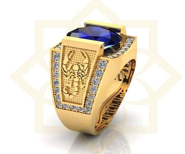 Nhẫn vàng 18k kiểu nam dành cho quý ông tuổi 30