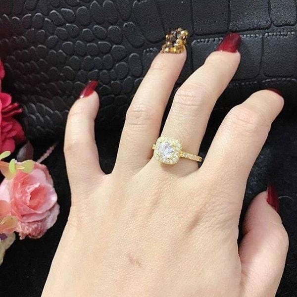 Kiểu nhẫn vàng 18k nữ đẹp dành cho cô nàng có phong cách năng động, trẻ trung